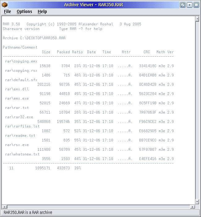 Unrar32 Ecsoft 2
