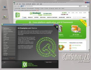 Qt4 Application & UI Framework | eCSoft/2