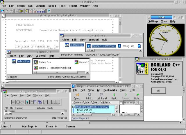 Borland C++   eCSoft/2