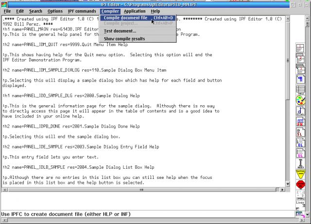 IPF Editor | eCSoft/2