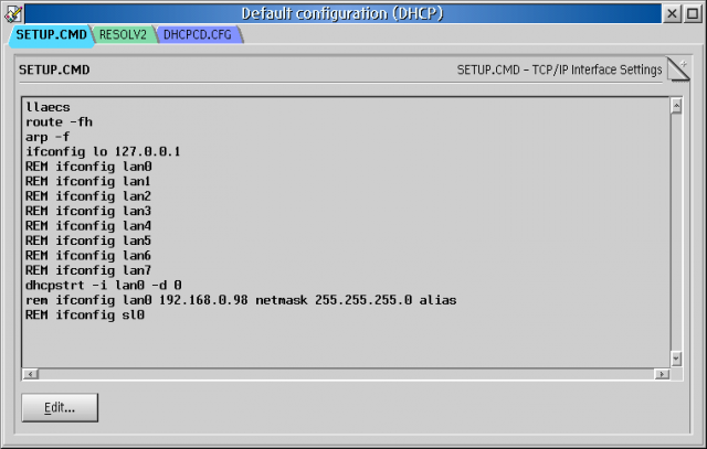 tcp profiles manager