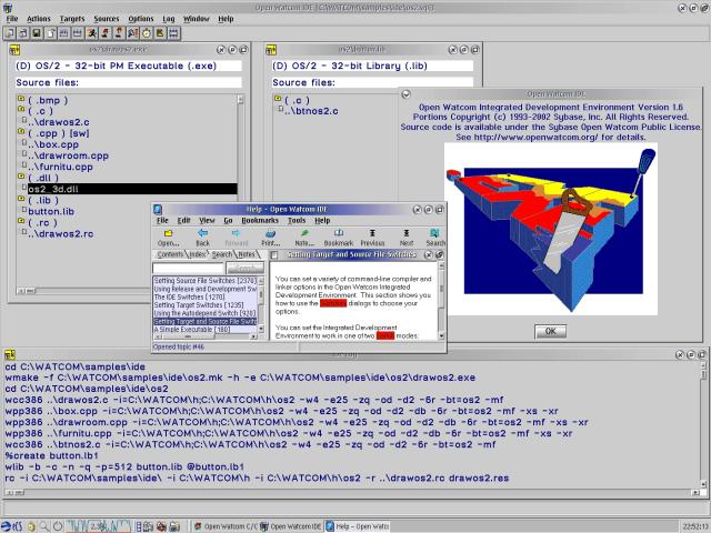 Open Watcom C/C++ & Fortran77 | eCSoft/2