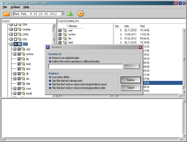 PM Backup Suite | eCSoft/2