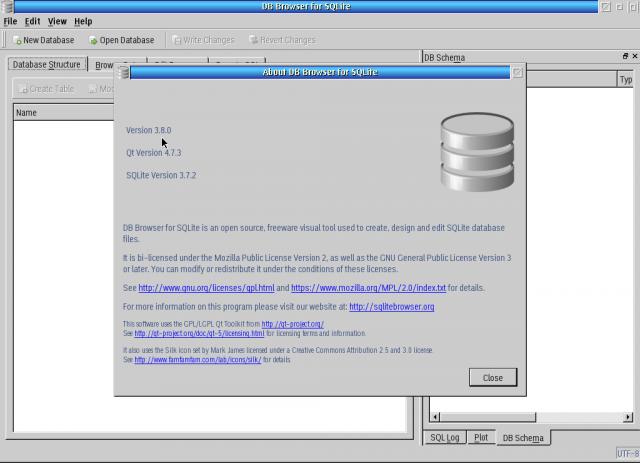 SQLite Browser for OS/2 | eCSoft/2